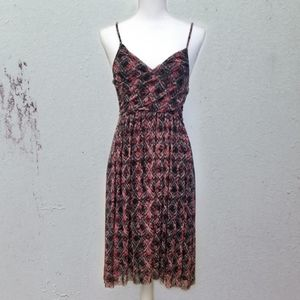 Free People Empire Floral Tribal Dress